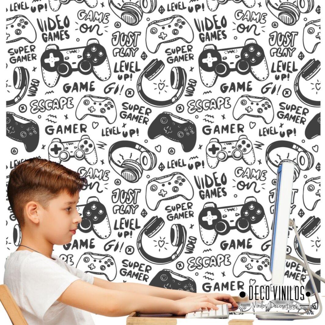 Vinilo Mural Gamer
