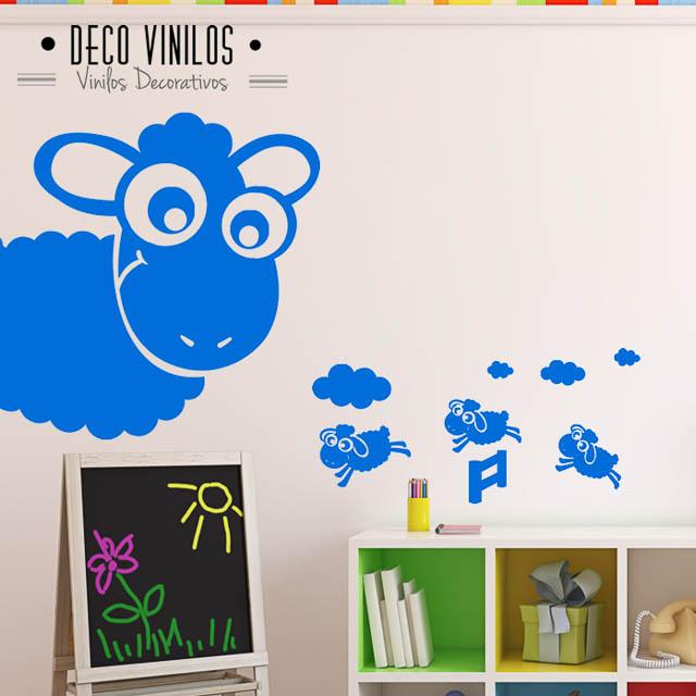 vinilo decorativo oveja